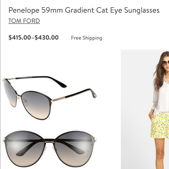 Tom Ford Accessories - Tom Ford Penelope FT0320 Sunglasses